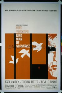 BIRDMAN OF ALCATRAZ 1sheet