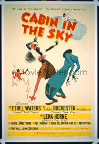 CABIN IN THE SKY 1sheet