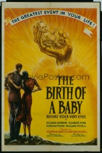 BIRTH OF A BABY 1sheet