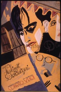 CABINET OF DR CALIGARI ('20) German promotional