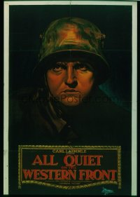 ALL QUIET ON THE WESTERN FRONT ('30) 1sheet