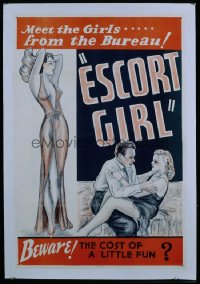 ESCORT GIRL 1sheet