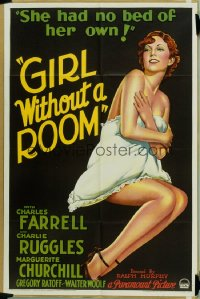 GIRL WITHOUT A ROOM 1sheet