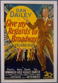 GIVE MY REGARDS TO BROADWAY 1sheet