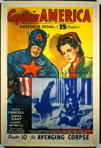 CAPTAIN AMERICA ('44) CH10 1sheet