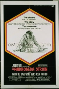 ANDROMEDA STRAIN STRAIN int'l 1sh '71 Michael Crichton novel, Robert Wise directed, Arthur Hill