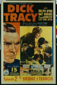 045 DICK TRACY ('37) CH2 1sheet