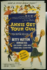 ANNIE GET YOUR GUN ('50) 1sheet