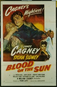 BLOOD ON THE SUN ('45) 1sheet