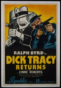 DICK TRACY RETURNS 1sheet