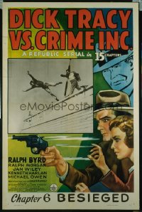 DICK TRACY VS. CRIME INC. CH6 1sheet