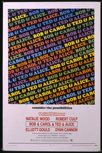 BOB & CAROL & TED & ALICE 1sheet