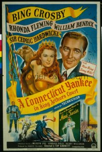 CONNECTICUT YANKEE IN KING ARTHUR'S COURT ('49) 1sheet