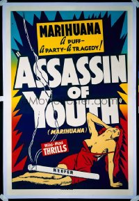 ASSASSIN OF YOUTH 1sheet