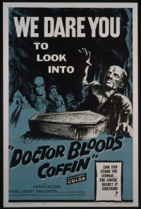 DOCTOR BLOOD'S COFFIN 1sheet