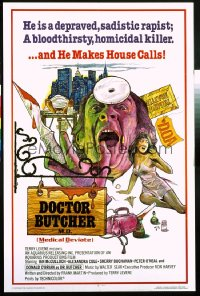 DOCTOR BUTCHER M.D. 1sheet