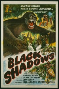 BLACK SHADOWS ('49) 1sheet