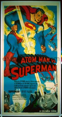 ATOM MAN VS SUPERMAN 3sh