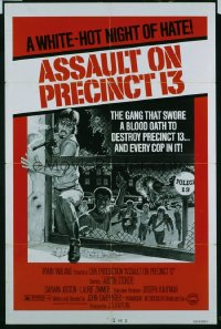 ASSAULT ON PRECINCT 13 ('76) 1sheet