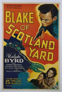 BLAKE OF SCOTLAND YARD 1sheet