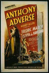 ANTHONY ADVERSE 1sheet