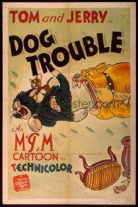 DOG TROUBLE 1sheet
