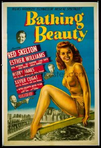 326 BATHING BEAUTY 1sheet 1944
