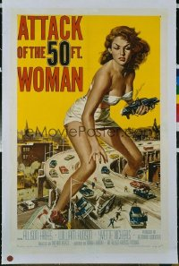 ATTACK OF THE 50 FT WOMAN ('58) 1sheet
