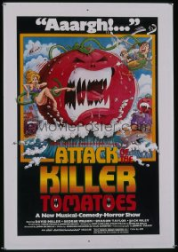 ATTACK OF THE KILLER TOMATOES 1sheet