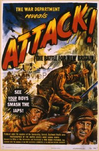 ATTACK, THE BATTLE OF NEW BRITAIN 1sheet
