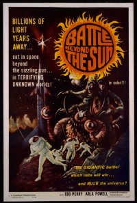 BATTLE BEYOND THE SUN 1sheet