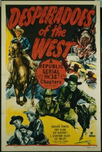 DESPERADOES OF THE WEST 1sheet
