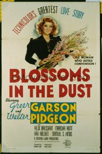 BLOSSOMS IN THE DUST 1sheet