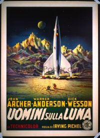 DESTINATION MOON Italian