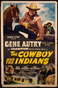 COWBOY & THE INDIANS 1sheet