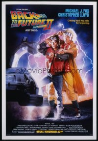 BACK TO THE FUTURE II 1sheet