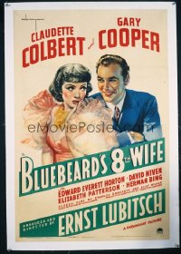 BLUEBEARD'S EIGHTH WIFE ('38) 1sheet