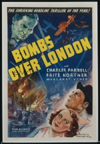 BOMBS OVER LONDON 1sheet