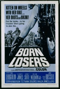 BORN LOSERS 1sheet