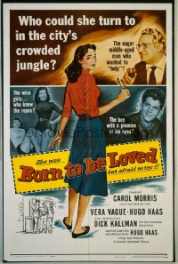 BORN TO BE LOVED 1sheet