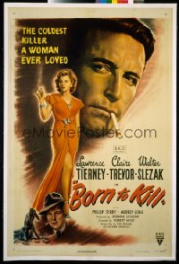 BORN TO KILL ('46) 1sheet