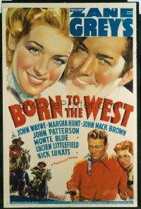BORN TO THE WEST ('37) 1sheet