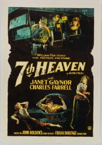 SEVENTH HEAVEN ('27) 1sheet