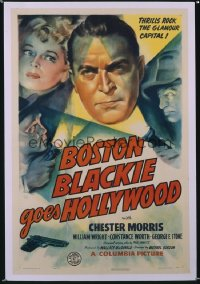 BOSTON BLACKIE GOES HOLLYWOOD 1sheet