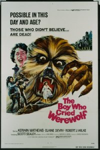 BOY WHO CRIED WEREWOLF 1sheet