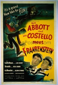ABBOTT & COSTELLO MEET FRANKENSTEIN 1sheet
