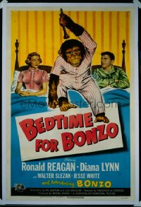 BEDTIME FOR BONZO 1sheet