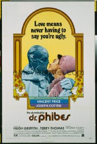 ABOMINABLE DR. PHIBES 1sheet