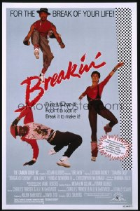 BREAKIN' 1sheet