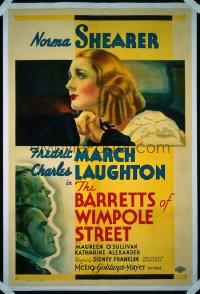 BARRETTS OF WIMPOLE STREET ('34) 1sheet